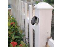 Solar Fence Lights, Outdoor Solar Light, IP65 Waterproof,