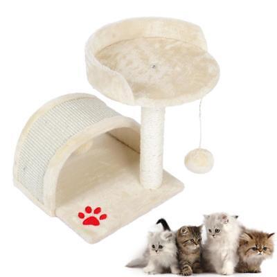 Cat Tree Scratching Post Scratcher Activity Centre Kitten Scratch Toys Play Toy