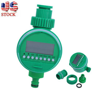 Electronic Auto Water Irrigation Controller Digital Water Timer Garden Watering