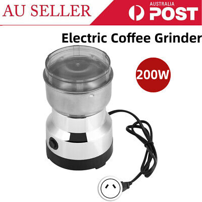 Electric Coffee Grinder Stainless Steel Coffee Grinder for Kitchen for Office