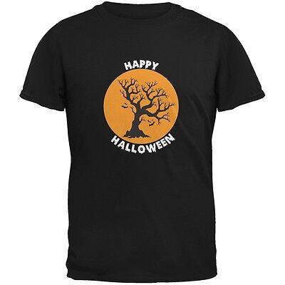 Halloween Tree Silhouette (Happy Halloween Tree Silhouette Black Adult)
