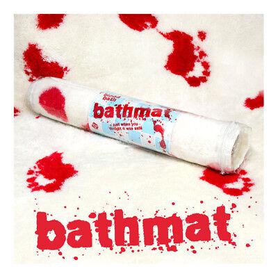 Blood Bathmat Bloody Bathroom Decor Gory Halloween Party Novelty - Halloween Bathroom Decor