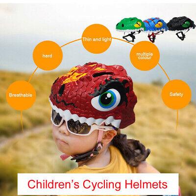 Dinosaur Kids' Helmet Toddler Youth Child Bike Bicycle Cycling Skateboard Helmet