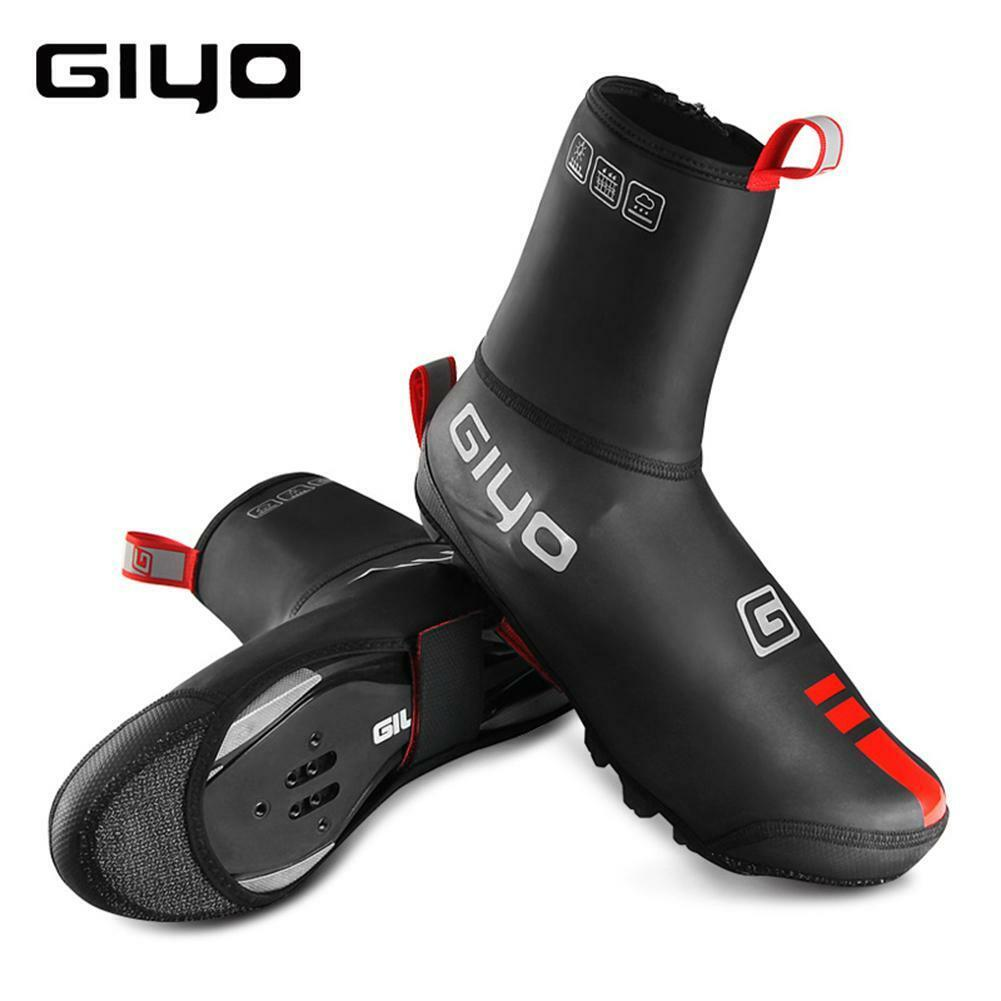 Cycling Sport Shoe Covers Winter Windproof Bicycle Thermal O