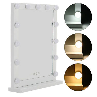 Hollywood Dimmable Vanity Mirror with LED Bulb Makeup Lights Bedroom Table Decor