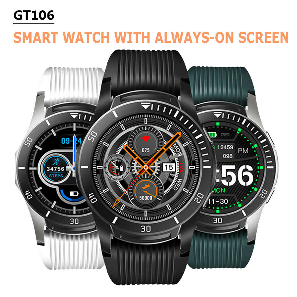 new smart watch bluetooth heart rate oxygen