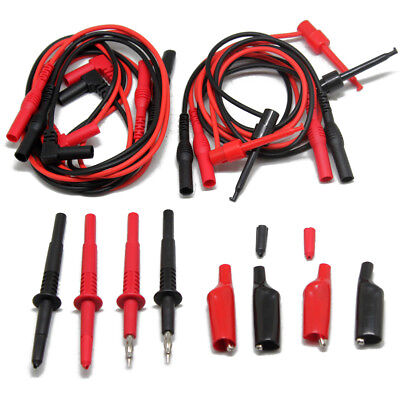 2pcs Aidetek Test Leads For Fluke Meter Tester Tl809 Electronic Test Leadtlp1070