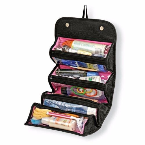 Travel Cosmetic Makeup Bag Toiletry Hanging Zip Organizer St