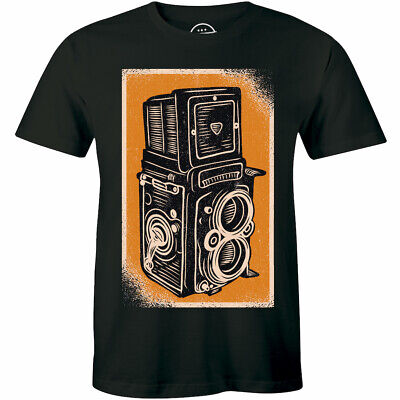Vintage Photography Camera For Photographer Men T-shirt Cameraman Classic Gift