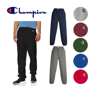 Champion Men's Cotton Max 9.7 oz. Gym Athletic Sweatpants Wo