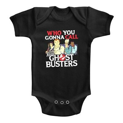 Ghostbusters Who You Gonna Call Baby Grow Squad Goals Infant Romper Boy Girl Car