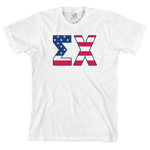 Sigma chi american apparel t shirt fraternity sig chi ex for American apparel sorority shirts