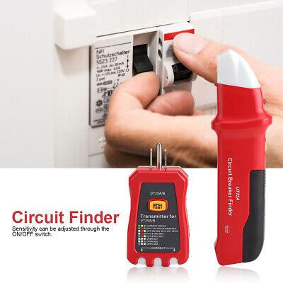 Pro Circuit Breaker Finder Plug Socket Switch Tester Test Diagnostic Tool Kit