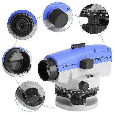 Automatic Level 32x Optical Transit Survey Mag Dampen Auto Level Measuring Tool