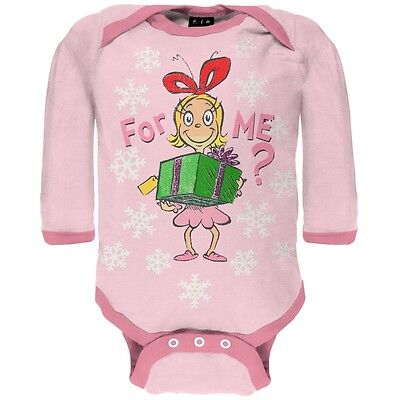 Dr Seuss Baby Clothes - Dr. Seuss - Baby Girls For Me Cindy Long Sleeve Newborn Infant One Piece