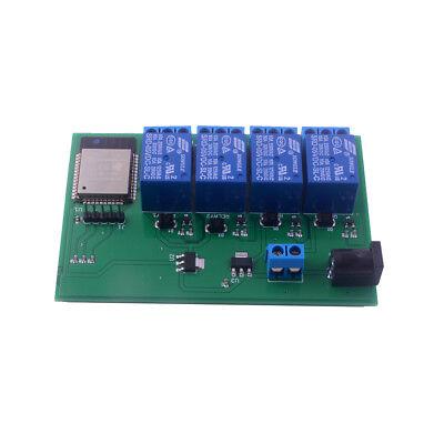 Esp8266 Wifi Bluetooth Relay Module 4 Channel Iot Built In Esp32 Esp32s Module
