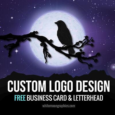 CUSTOM LOGO DESIGN: Professional Service, Business card and Letterhead FREE
