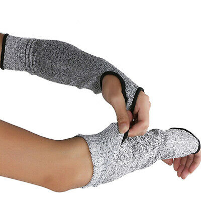 Garden Sleeves Arm Protectors Outdoor Anti-Cutting Work Glove Protective Cut US