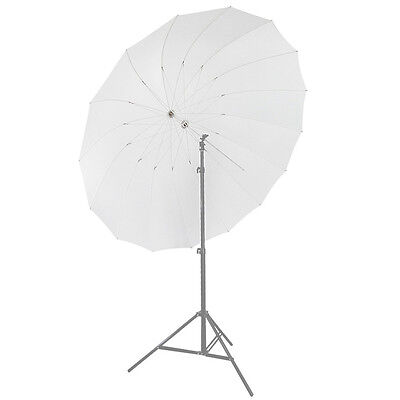 "Neewer 72""/185cm White Diffusion Parabolic Umbrella 16 Fiberglass Rib 7mm Shaft"