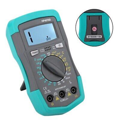 Digital Lcd Capacitor Capacitance Inductance Resistance Tester Meter Multimeter