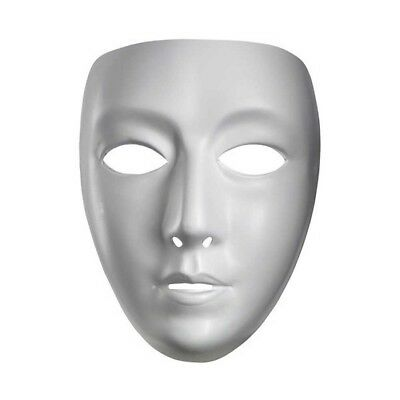 White Blank Mask Jabbawockeez JBWKZ Dance Comedy Drama Male Adult Purge Costume - Halloween Costumes Jabbawockeez Mask