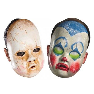 Doll Mask (Choose your mask) (Choose your mask) Accessory Halloween - Doll Mask