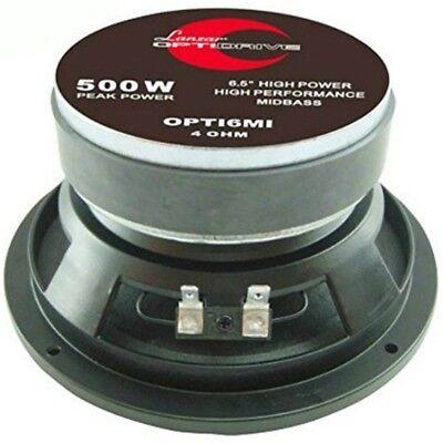 MID WOOFER LANZAR OPTI6MI 500 WATT MAX DA 16,50 CM 165 MM...