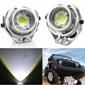 2X 10W CREE LED WORK LIGHT ROAD SPOT 12V MOTOR CAR TRACTOR BOAT FOG SPOTLIGHT