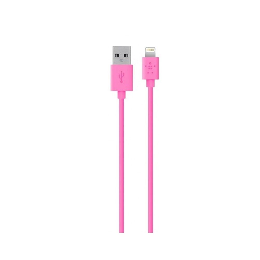 GENUINE BELKIN 4 ft Pink  Lightning to USB Charge Sync Cable