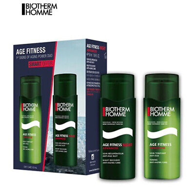Biotherm Homme Age Fitness Advanced Day Care 50 ML + Night Care 50 ML