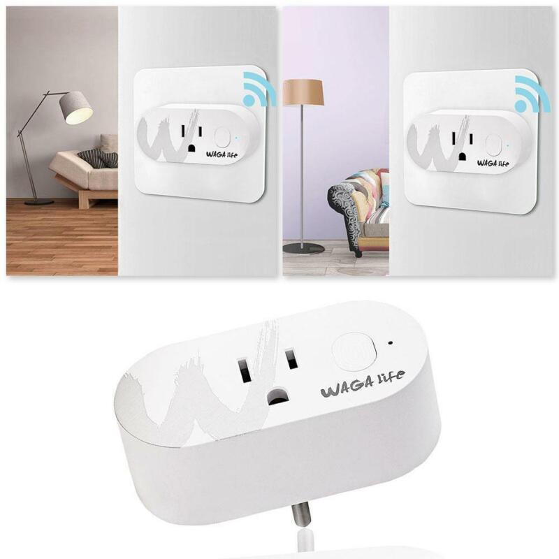 1* Mini Wi-Fi Smart Plug Sockets 2.4GHz 16A Max Load Wireles