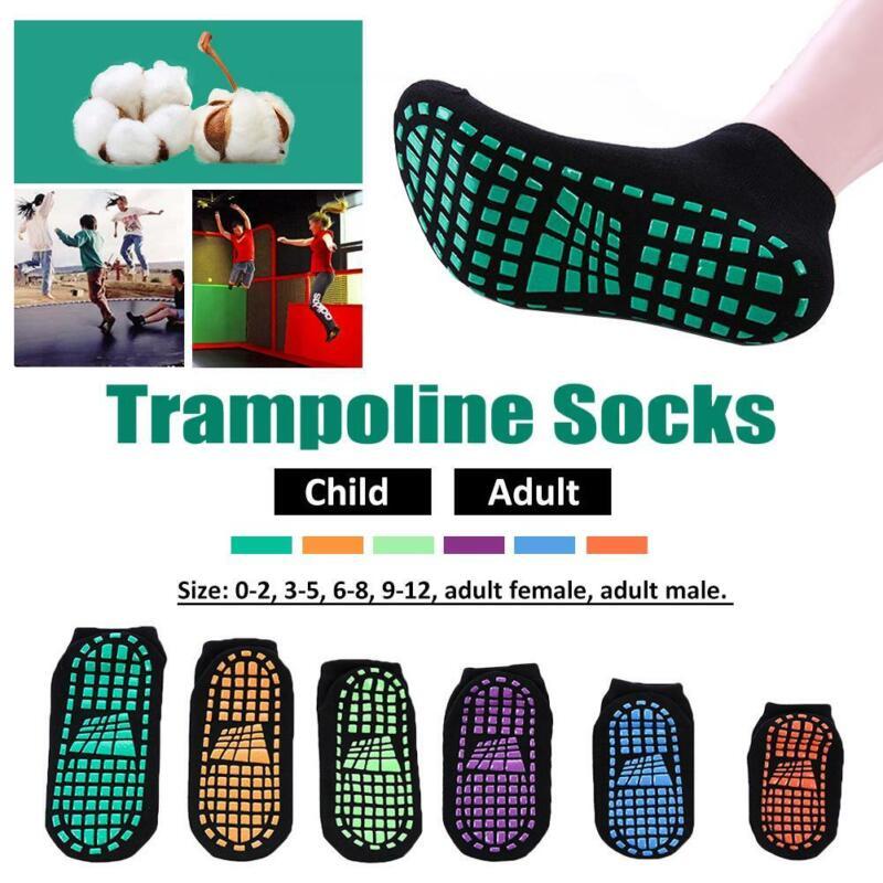 Professional Children Trainer Trampoline Gym Anti-Slip Socks 10 PAIRS