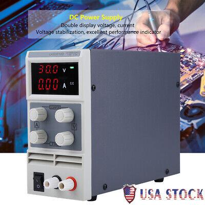 30v 10a Digital Dc Power Supply Variable Adjustable Lab Bench Test Equipment