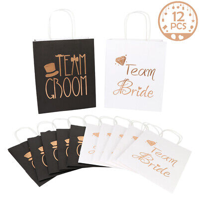 12pcs Bridesmaid Gift Bag Bridal Wedding Favor Gift Bags Bachelorette Party Bags - Bridesmaid Gift Bags