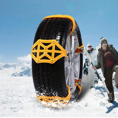 Car Truck Wheel Tire Snow Mud Anti-skid Chains Emergency Belt Accessories 2020