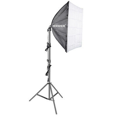 Neewer 60 x 60 centimeters Wired Studio Softbox Diffuser with E27 Socket