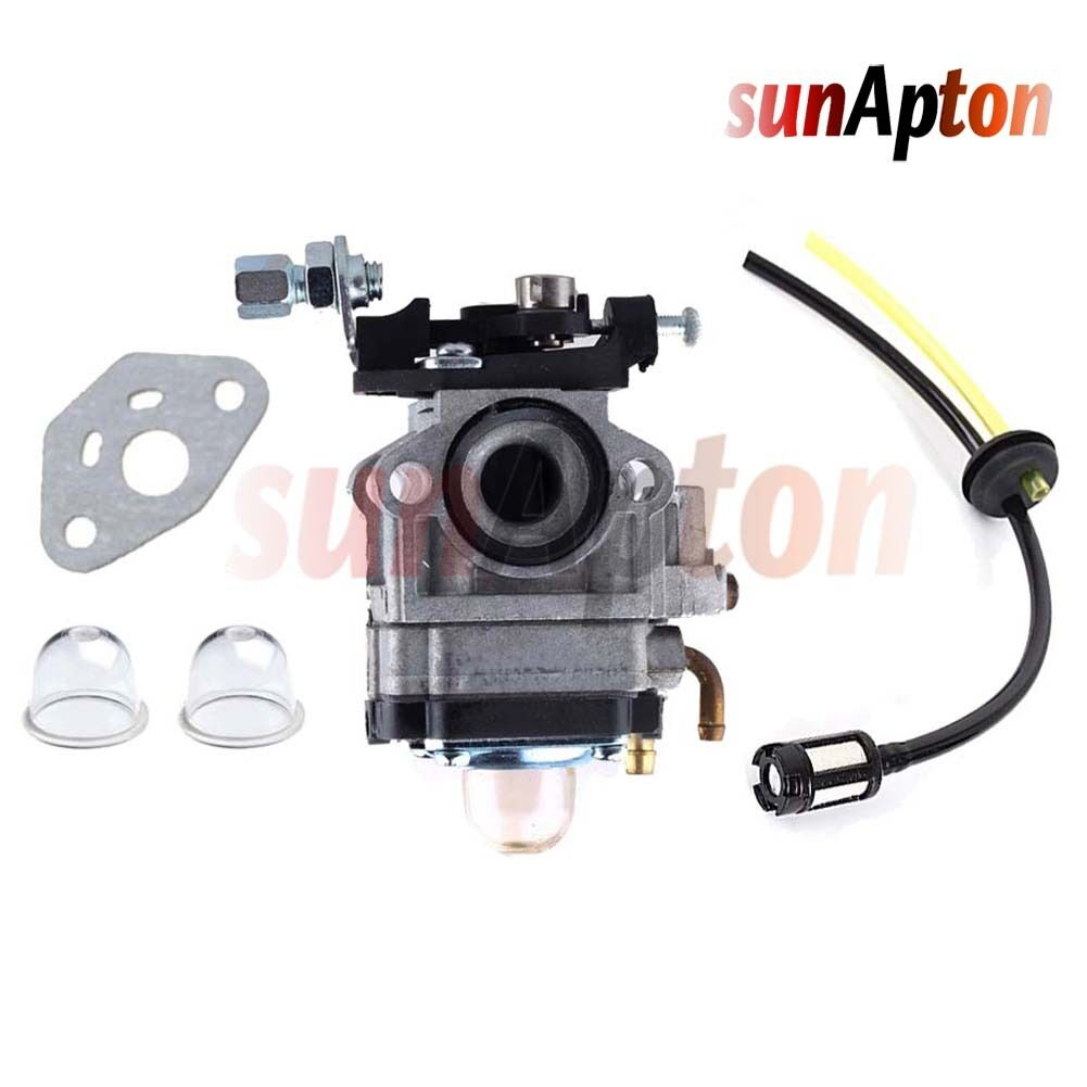 33cc Carburetor w/ Fuel Line Filter for Viza Viper Zooma Bladez Goped  Scooter