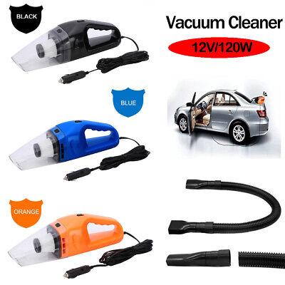 Portable Handheld Car Vacuum Cleaner Super Suction 12V/120W Car Vacuum Cleaner