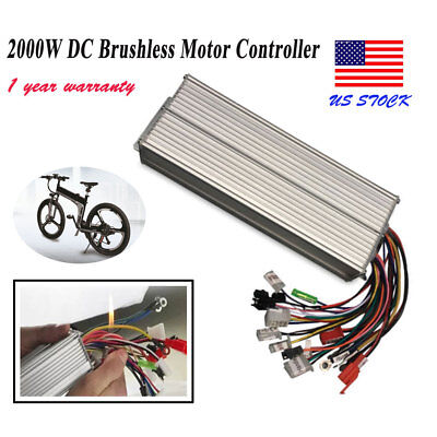 2000w Electric Bicycle E-bike Scooter Brushless Dc Motor Speed Controller 4872v