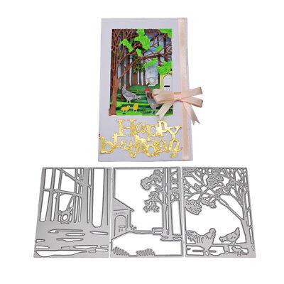 Hintergrund Stanzformen Präge Vorlagen für DIY Craft Scrapbook Kartenherstellung