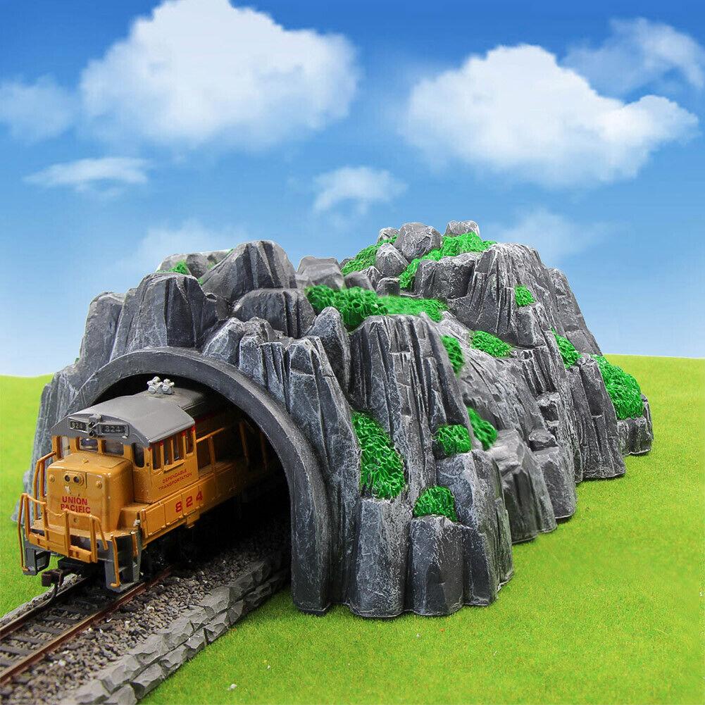 1pc Model Train Railway HO OO Scale Train Cave Tunnels 1:87