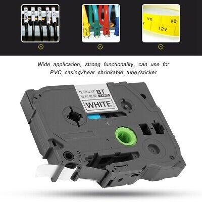 TZ TZe-231 Label Tape Compatible Brother P-touch Label Maker 12mm Black on White segunda mano  Embacar hacia Mexico