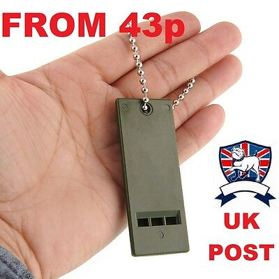 3 Db Marine (100DB EMERGENCY WHISTLE RESCUE 3 TONE ARMY SOLAS MARINE LIFEBOAT SURVIVAL PLCE)