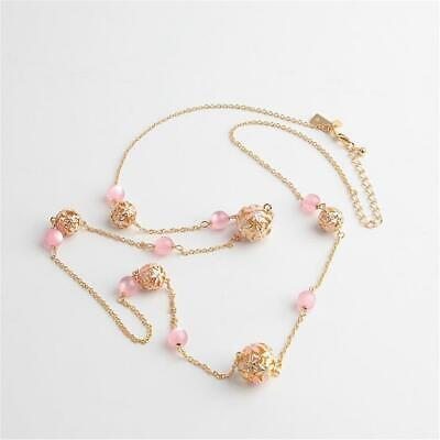"""Kate Spade New York """"At First Blush"""" Pearl Flower Scatter Necklace Pink"""