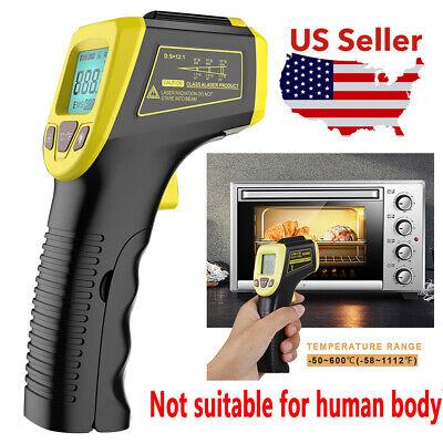 No-contact Lcd Ir Laser Infrared Digital Temperature Thermometer Gun Pyrometers