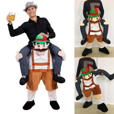 Novelties Leprechaun Kostüm Huckepack Carry Me Kostüm Karneval Kostüm - Carry Me Kostüm