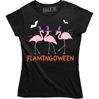 It Happy Halloween (Happy Halloween Flamingoween Shirt Funny Cute Animal Flamingo Tee)