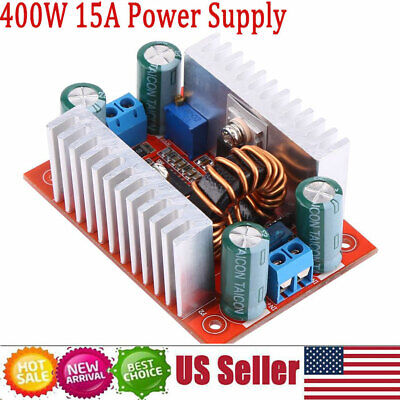 Dc-dc Step Up Boost Converter Constant Current Power Supply 400w 15a Led Driver.