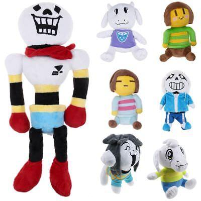 8 15 Undertale Plush Toy Stuffed Doll Sans Papyrus Temmie Toriel Asriel Gift