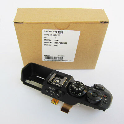 Panasonic Lumix DMC-GX8 Camera Top Operation Unit Black Case Cover Part SYK1098